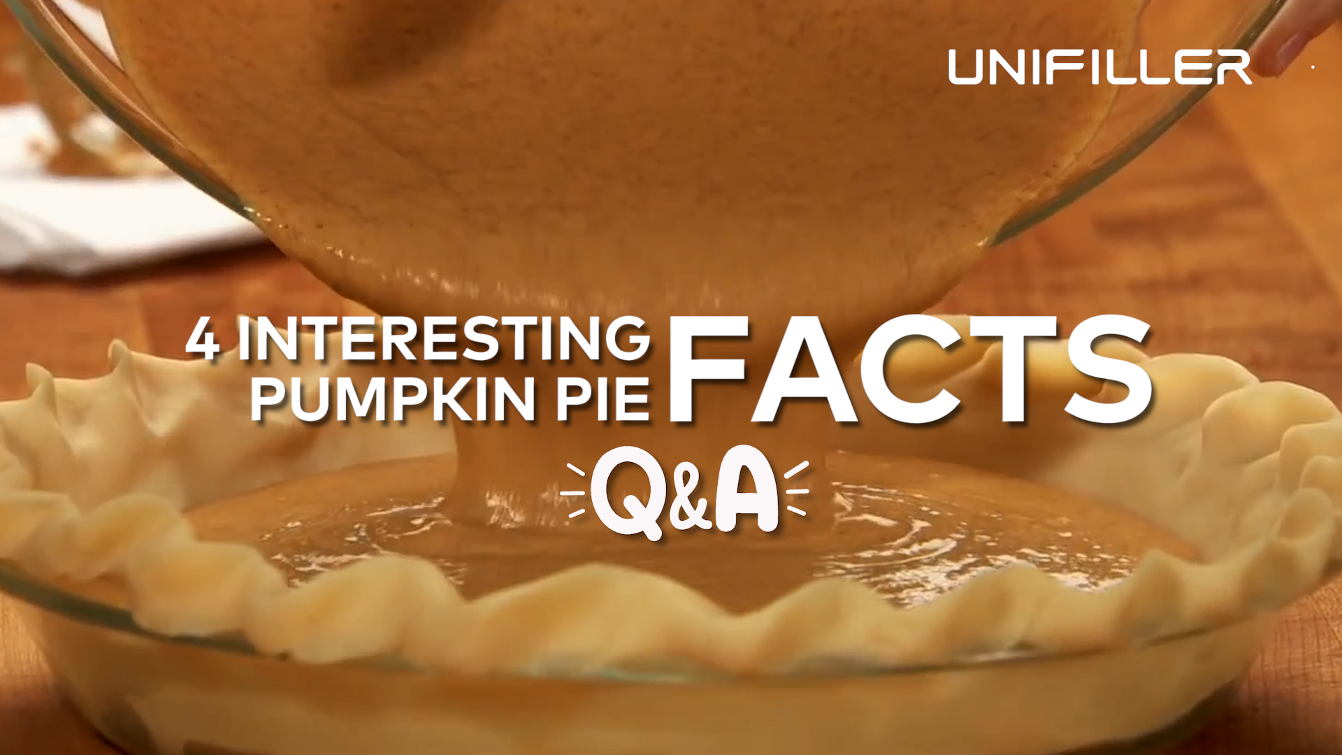 Pumpkin Pie Q&A